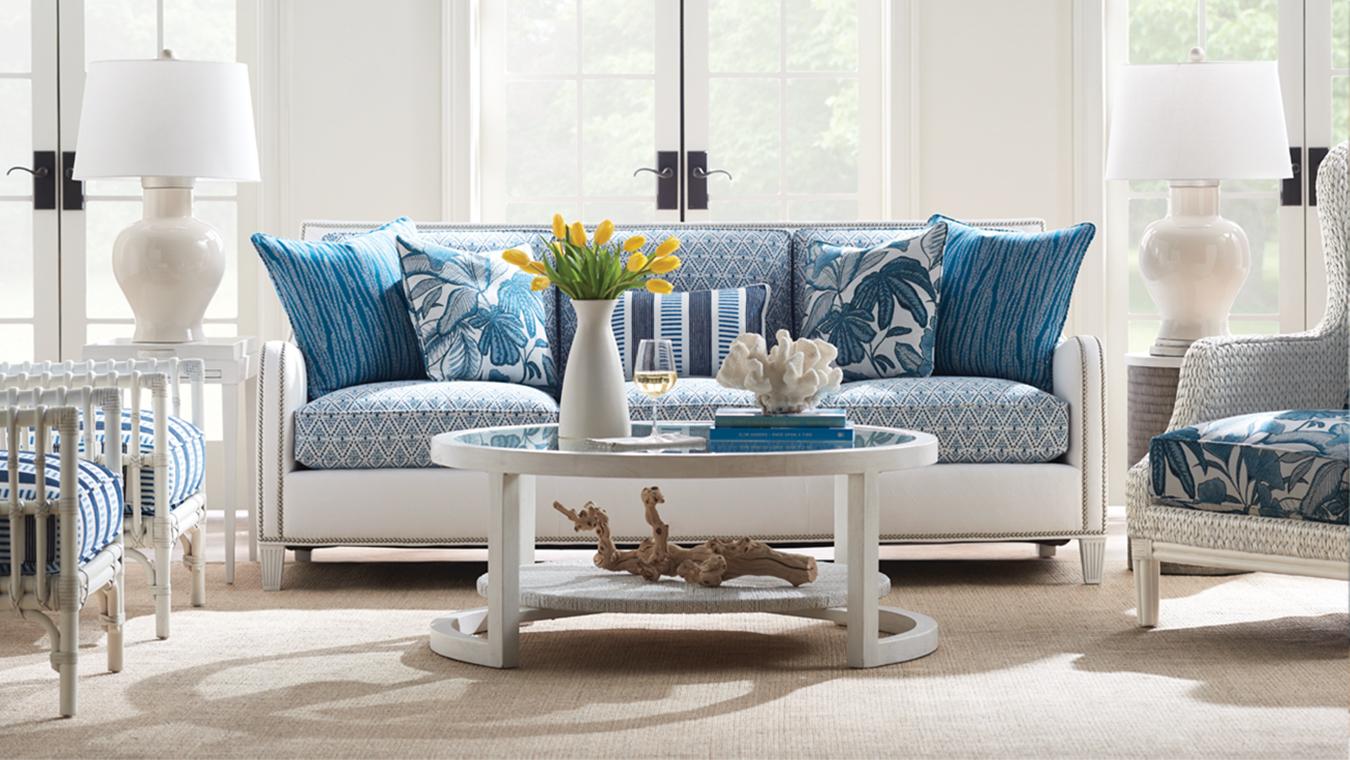 Ocean Breeze Living Room Scene